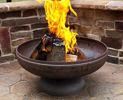 Hollywood Cottages   Rental Amenities   Outdoor Fire Pit Area