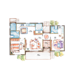 25평형 1층 2실