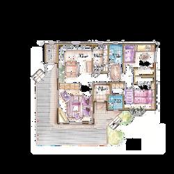 27.2평형 1층 2실