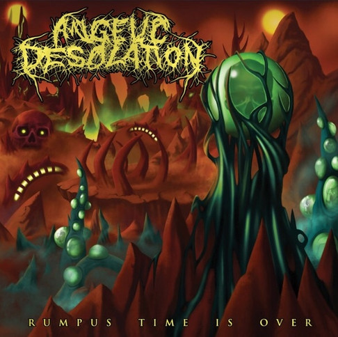Angelic desolation cover/ Via Nocturna Records