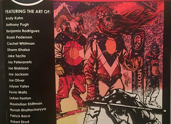 Colorado Festival of Horror Coloring Book