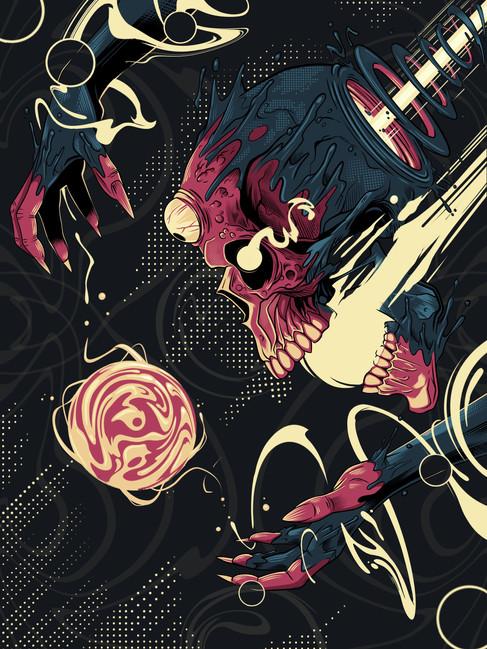 Silkscreen Poster Design