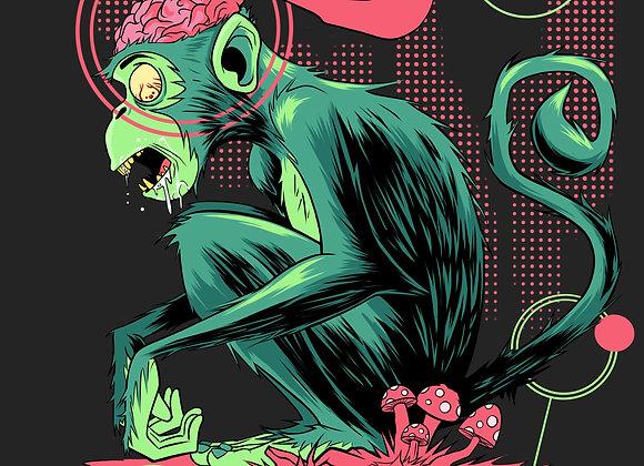 Monkey Brains Poster Print