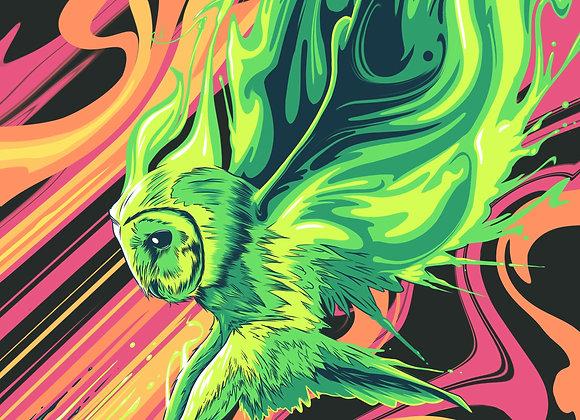 Empath Owl Poster