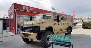 Бронеавтомобиль БУРАН на выставке АРМИЯ 2017