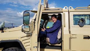 Бронеавтомобиль БУРАН примет участие в выставке военной техники