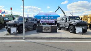 Бронеавтомобиль Буран на форуме АРМИЯ 2020
