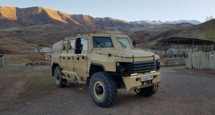 Бронеавтомобиль БУРАН испытали в условии горной местности.