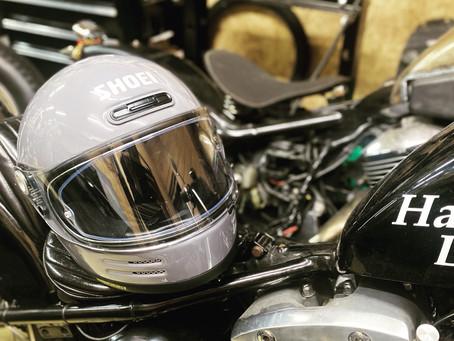 おニューヘルメット