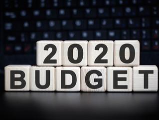 Federal Budget 2020 - show me the MONEY