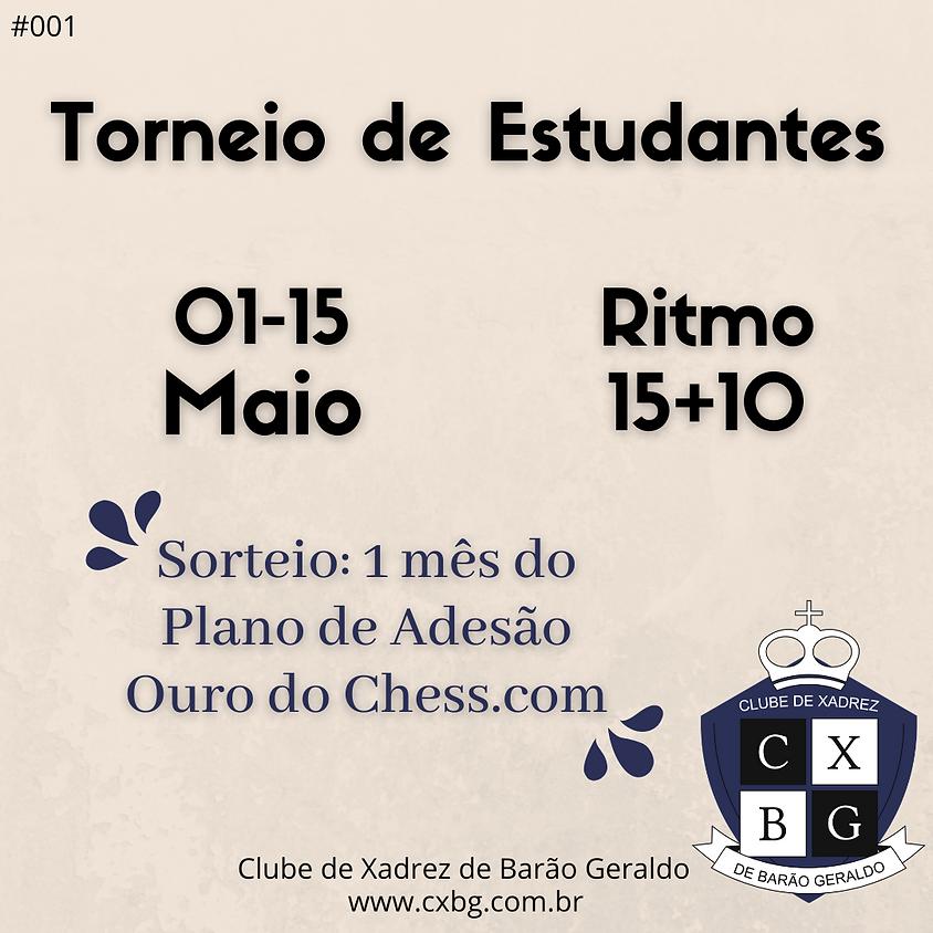 Torneio de Estudantes do CXBG - Ed. 1