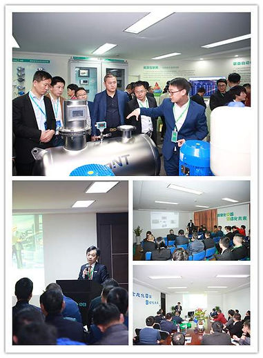 Partners visit Chitc for new products