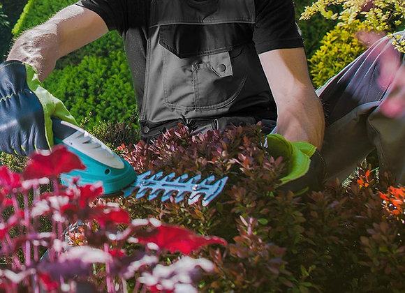 Temps de jardinage pour environ 14h00 sur place