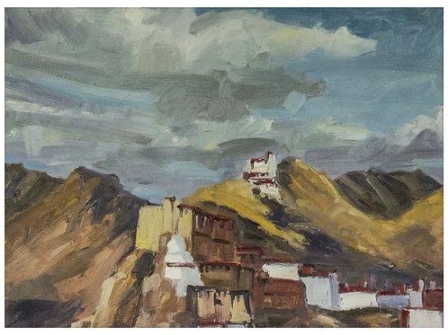 Interpretation of Leh Palace