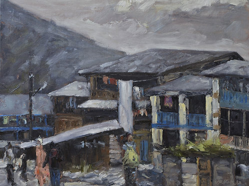 A Walk in a Village