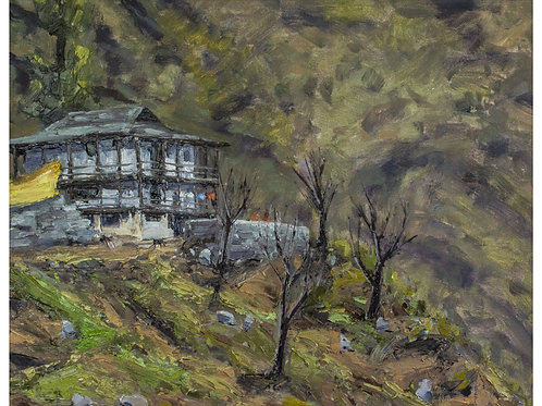 Old House and Apple Trees, Rasol