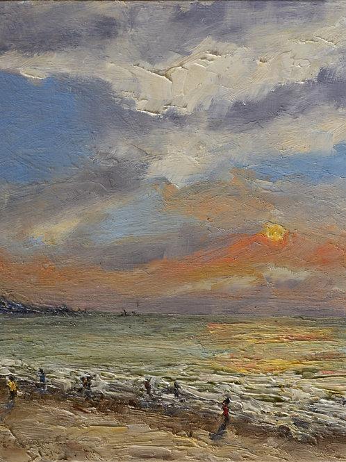 Sunset at Kudlee Beach I