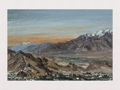 Leh Valley and the Mountains Beyond I