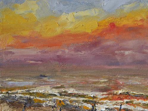 Sunset at Kudlee Beach III