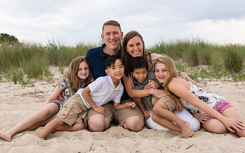 Family Session - Cape Henlopen Delaware