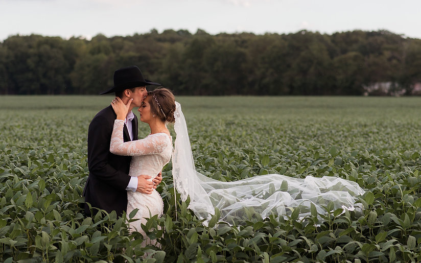 Homepage - Recently Married Couple in a