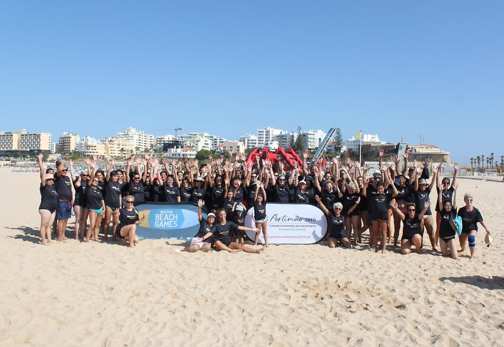 BeActive Beach Games in Portimaou, Portugal