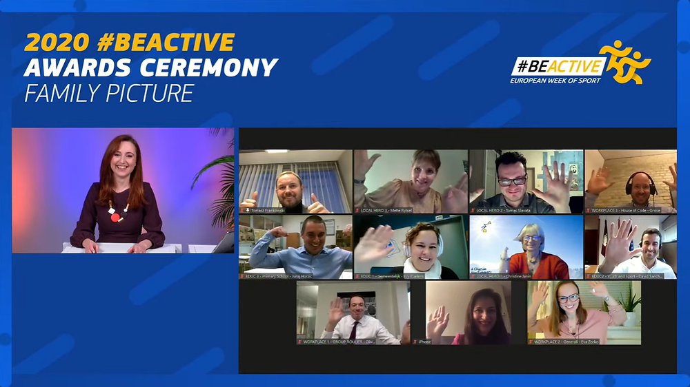 Finalists of the 2020 #BeActive Awards