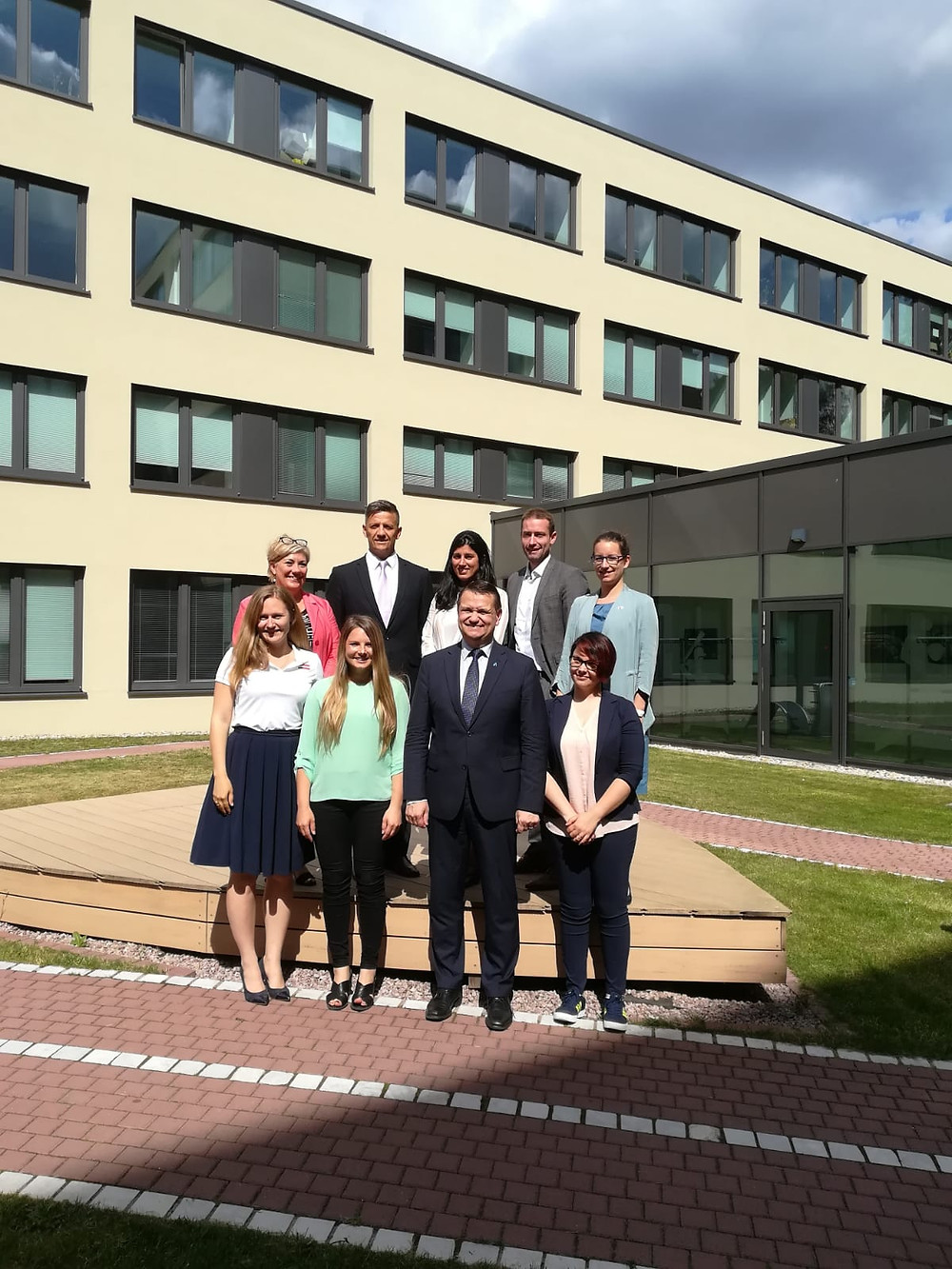 The new ENGSO Executive Committee