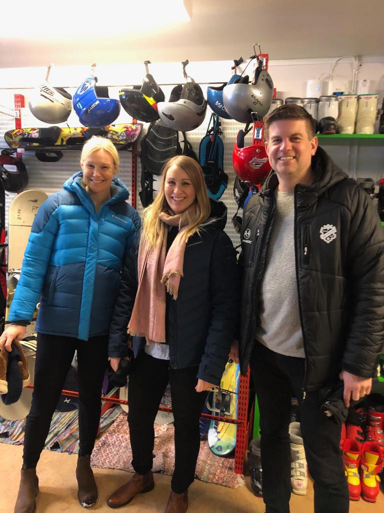 Sofia Karra, Lovisa Broms and Henrik Vilhelmsson in Friditsbanken