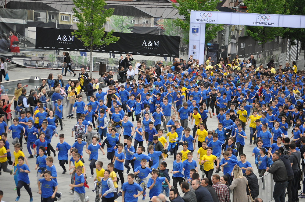 Olympic Day run in Pristina (Photo: Gani Kosumi)