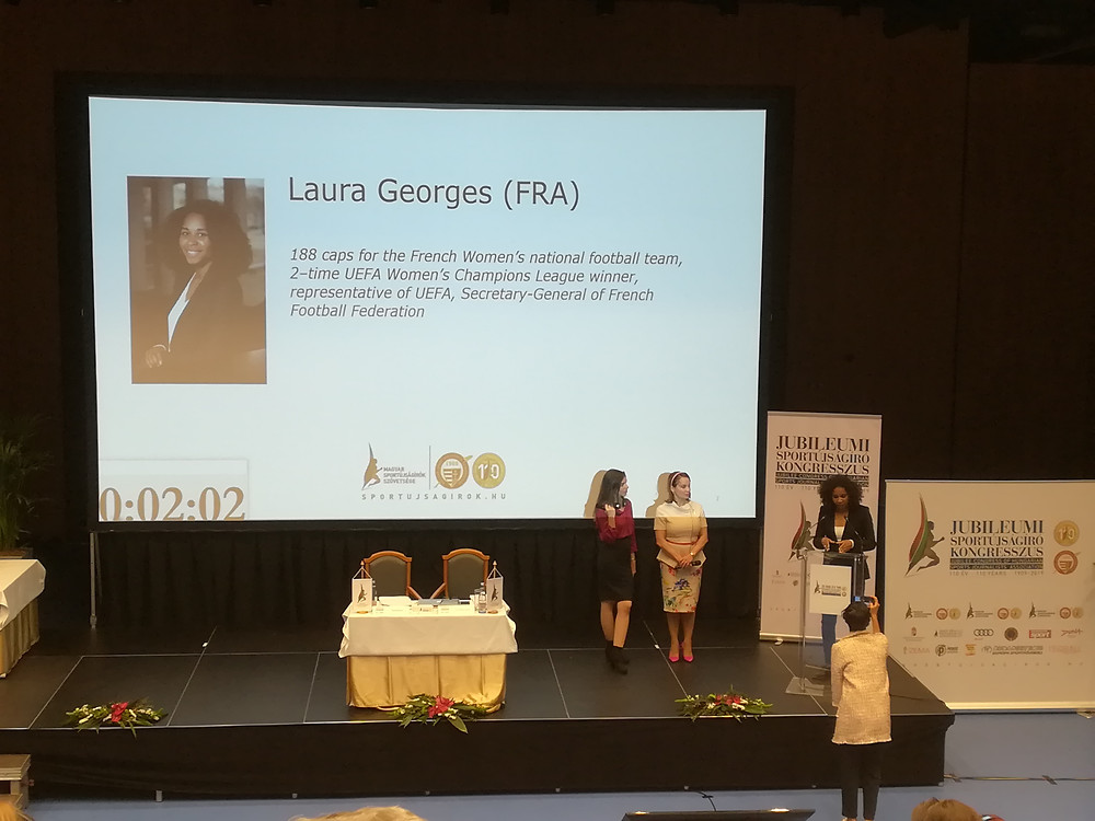 Laura Georges, Secretary General of the French Football Federation