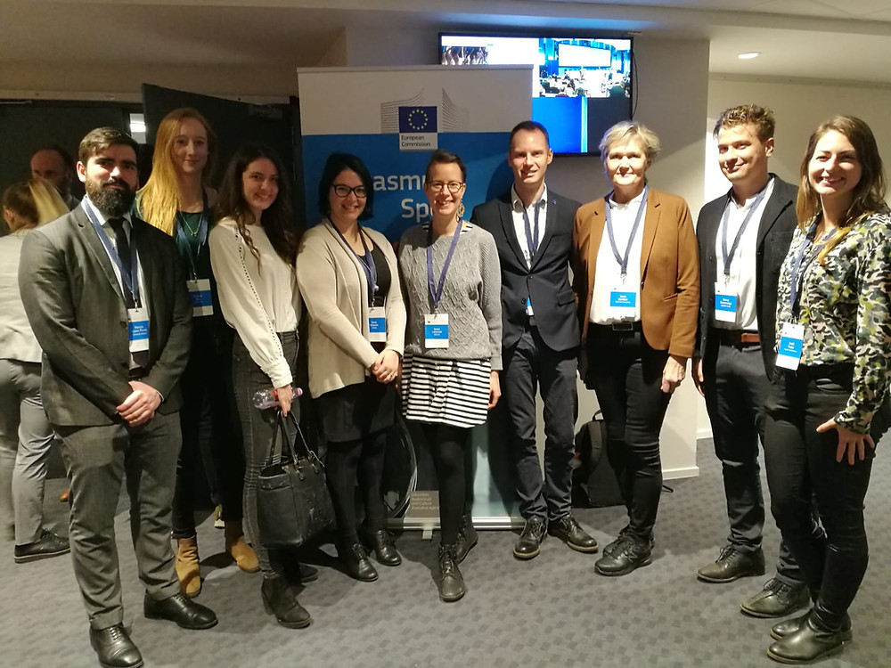 ENGSO and ENGSO Youth representatives with some colleagues from our network