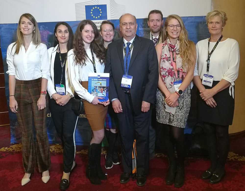 ENGSO and ENGSO Youth representatives at the EU Sport Forum
