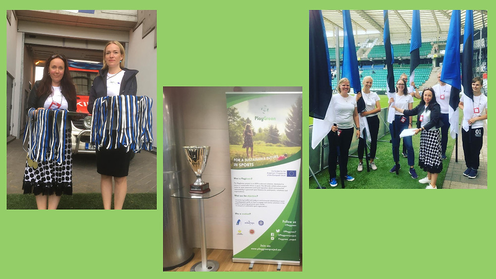 The first PlayGreen event in Estonia was organised on 4th July.