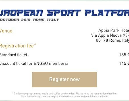 Registration deadline for the #ESP2019 is extended!