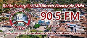 Radio Misionera 90.5 FM, Chalatenango.jp