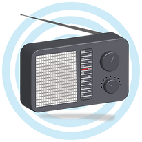 —Pngtree—realistic 3d radio with waves_5