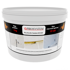 PiroAcrylic Sealant AC120 wiadro 3 kg