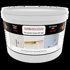 PiroAcrylic Sealant AC120 3 kg
