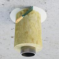 Pasta A rury metalowe w wełnie strop 2.p