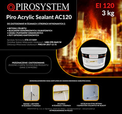 PiroAcrylic Sealant AC120 pudełko