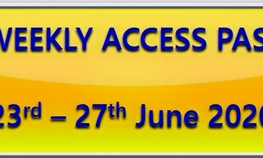 23rd - 27th June - UK SCHOOLS access to all live quizzes (and recorded versions)