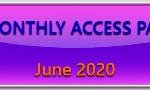 JUNE - access to all live quizzes (plus recorded versions) for June