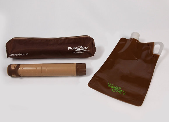 Pure2Go Water Purifier Travel Kit