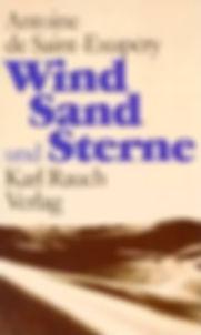 Saint Exupery Wind Sand und Sterne