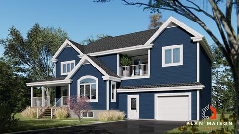 plan de maison avec garage boucherville