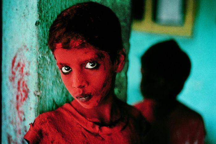 Steve McCurry - Photograohe portrait