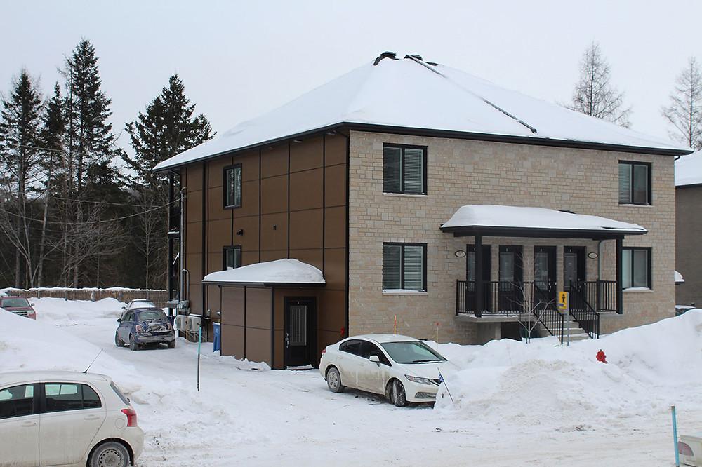Quadruplex par Midalto, constructeurs de maisons à Québec