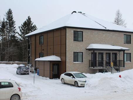 Quadruplex par Midalto, constructeurs de maisons à Québec.