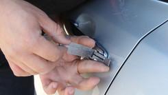 Déverouillage de porte de voiture